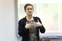 Susitikimas su JAV ambasados Vilniuje kultūros atašė Meghan Lucket