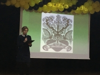 """Trumpalaikio projekto """"Pasaulio medis"""" pristatymas"""