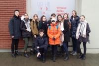 Apsilankymas Vilniaus dailės akademijoje